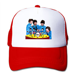 The Beatles Band Mesh Cap