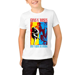 Guns N' Roses 1991 Illusion Combo Youth T-Shirts