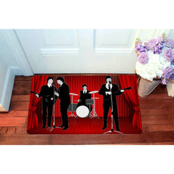 Happy Band The Beatles Doormats