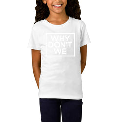 Why Dont We Box White Logo Youth T-Shirts