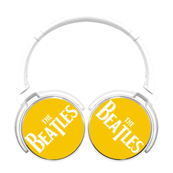 The Beatles Vintage Logo Bluetooth Headphones