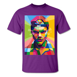 Avicii Three Dimensional Painting T-Shirts