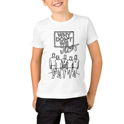Why Don't We Logo Youth T-Shirts