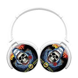 Guns N Roses Skull Shark Bluetooth Headphones