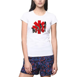Red Hot Chili Peppers Abbey Road Music Poster Women's T-Shirts