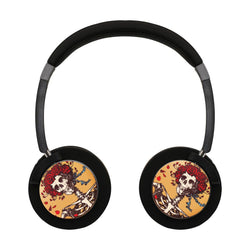 Grateful Dead Fashion Wireless Lightweight Long-Cord Headphones