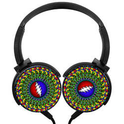 Grateful Dead Wireless Lightweight Long-Cord Headphones