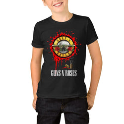 Guns N' Roses Logo Vector Youth T-Shirts