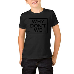 Why Dont We Box Logo Youth T-Shirts