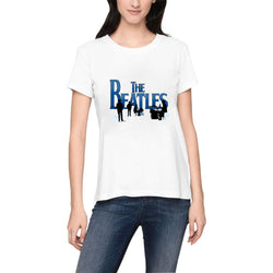 The Beatles English Rock Band Women's T-Shirts