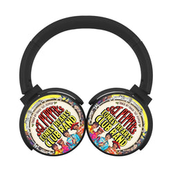 The Beatles Hearts Club Band Bluetooth Headphones