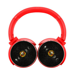 Guns N Roses Classic Faded Bluetooth Headphones