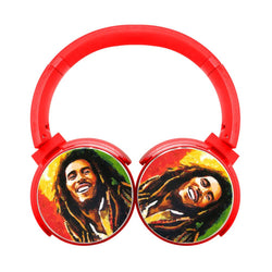 Bob Marley Is This Love Bluetooth Headphones
