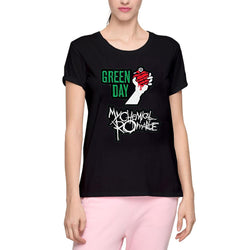 My Chemical Romance & Green Day Women's T-Shirts