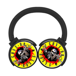 Guns N Roses Skull Bluetooth Headphones