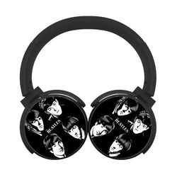 Stunning The Beatles Let It Be Bluetooth Headphones