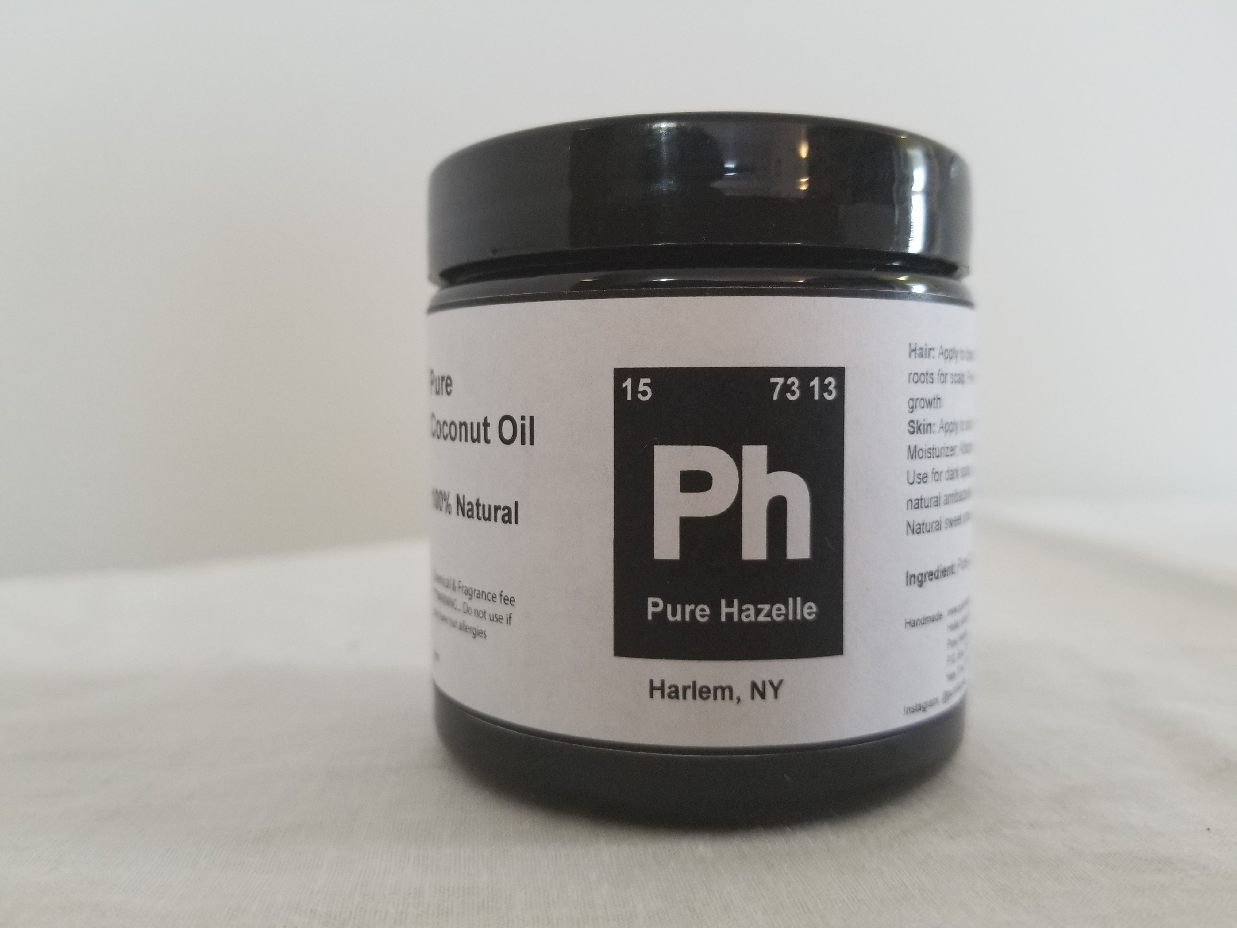 Pure Hazelle_ Coconut Oil