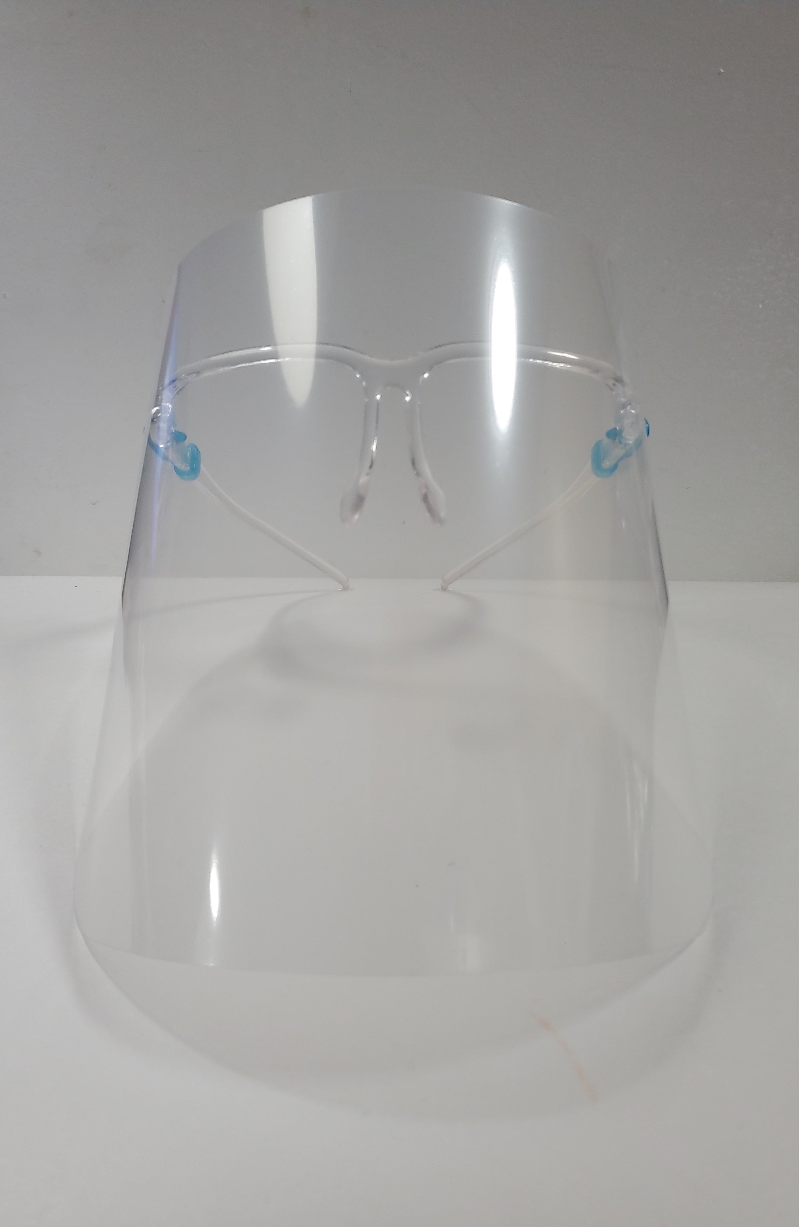 Pure Hazelle Clear Full Face Reusable Shield