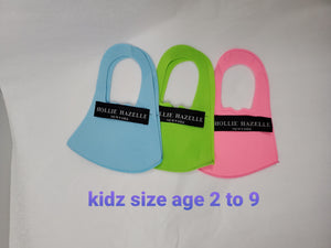 Kidz_ Pure Hazelle Single Layer Reusable Face Mask #KPHSL1