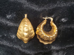 Pure Hazelle's Brass Earrings by Pure Hazelle