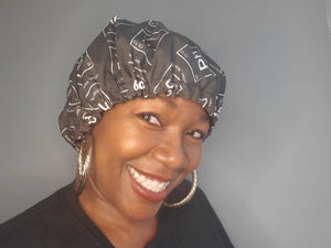 Pure Hazelle Signature Logo Hair Bonnet