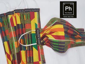 Pure Hazelle_African Print 100% Cotton Reusable Face Mask #PH30