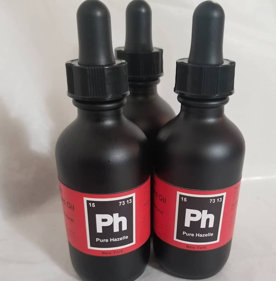 Pure Hazelle_ Beard Oil