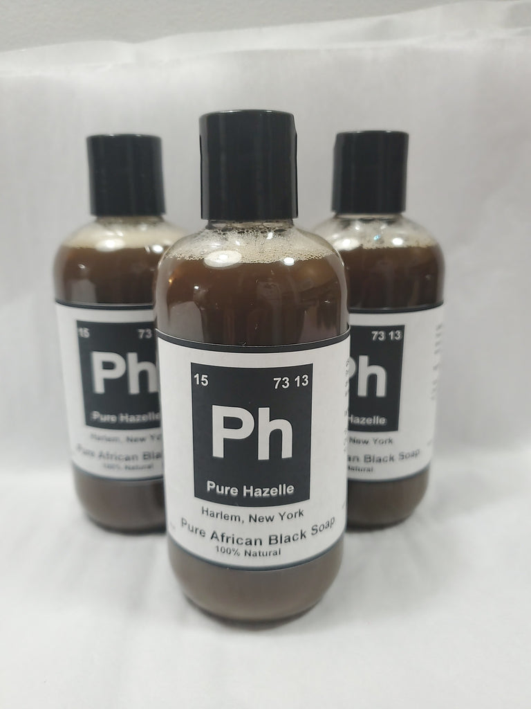 Pure Hazelle Liquid African Black Soap