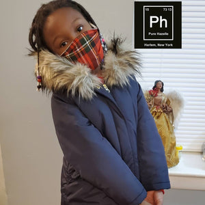 Pure Hazelle Holiday/ Winter Cotton Reusable Face Mask  #PHH2020