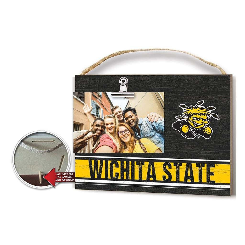 Clip It Colored Logo Photo Frame Wichita State Shockers