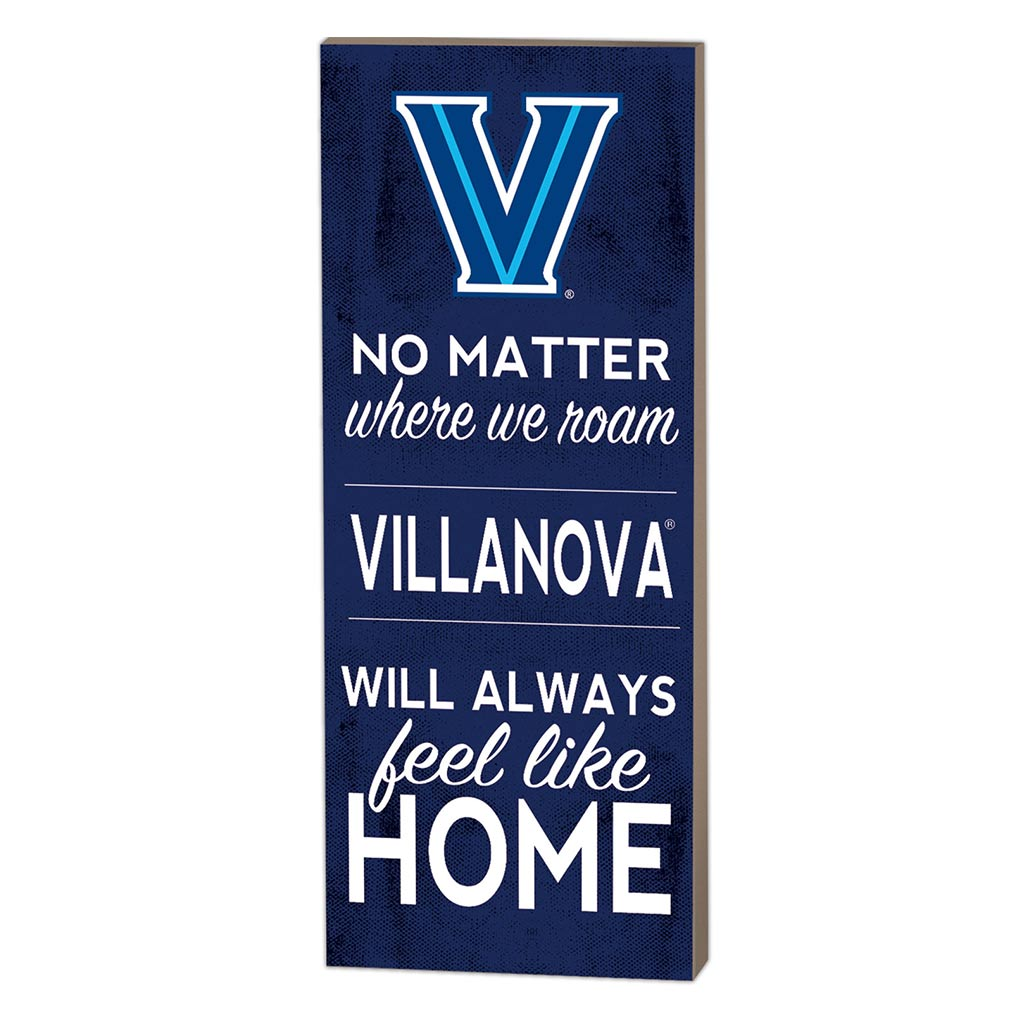 7x18 No Matter Where Villanova Wildcats