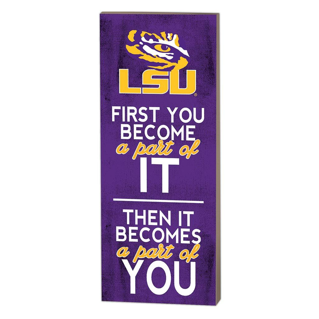 7x18 First You Become LSU Tigers