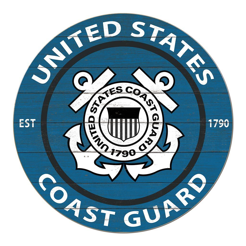 20x20 Colored Circle Coast Guard