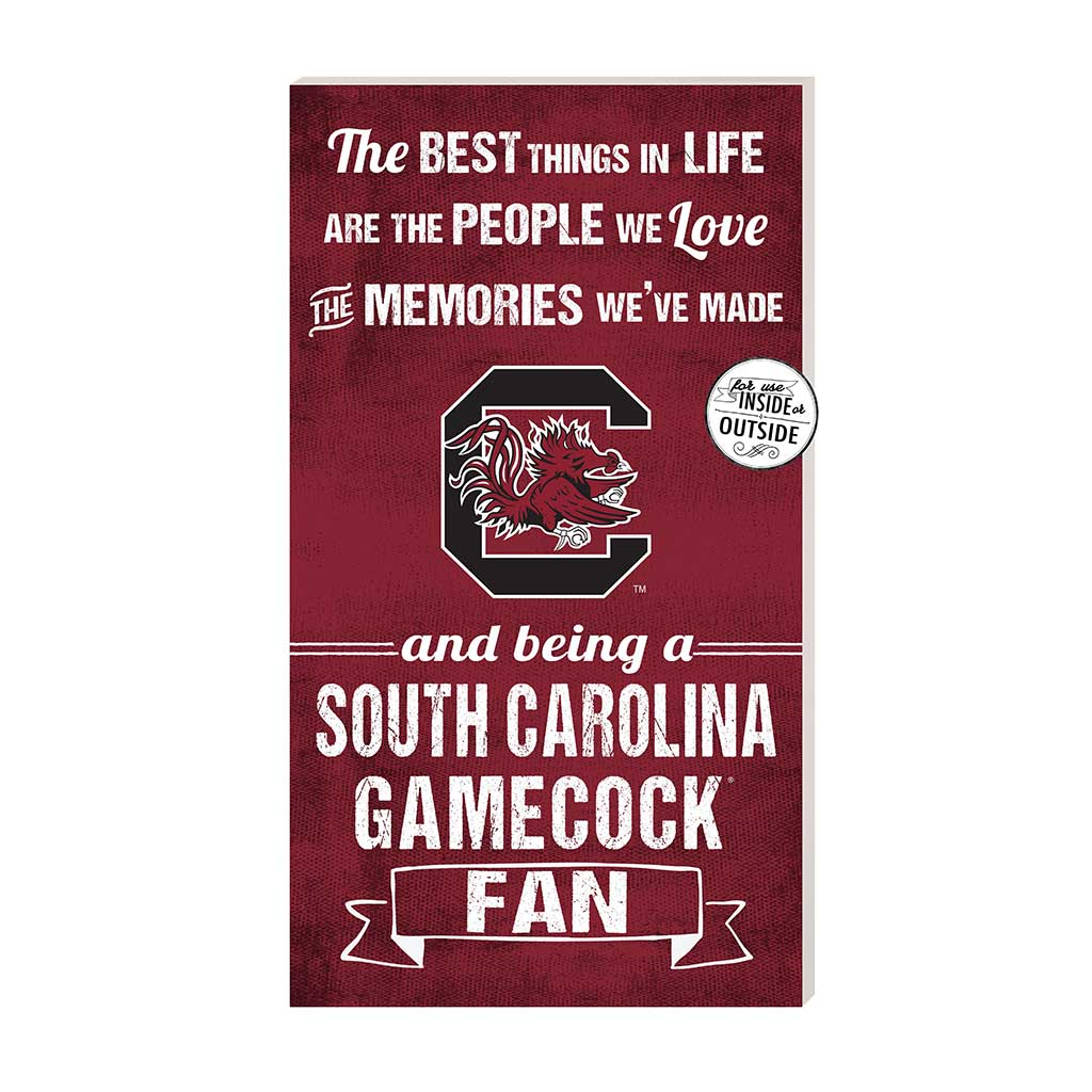 11x20 In\Outdoor Sign The Best Things South Carolina Gamecocks
