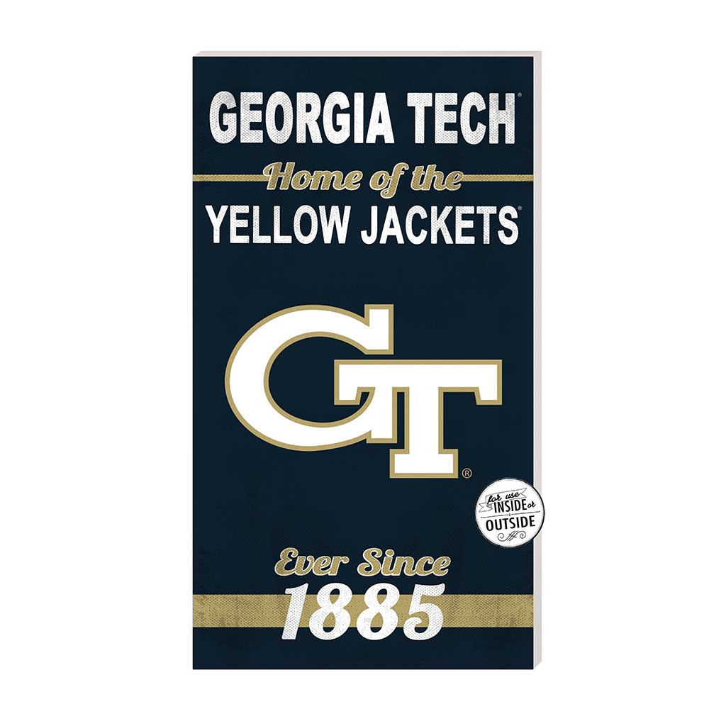 11x20 In\Outdoor Sign Home of the Georgia Tech Yellow Jackets