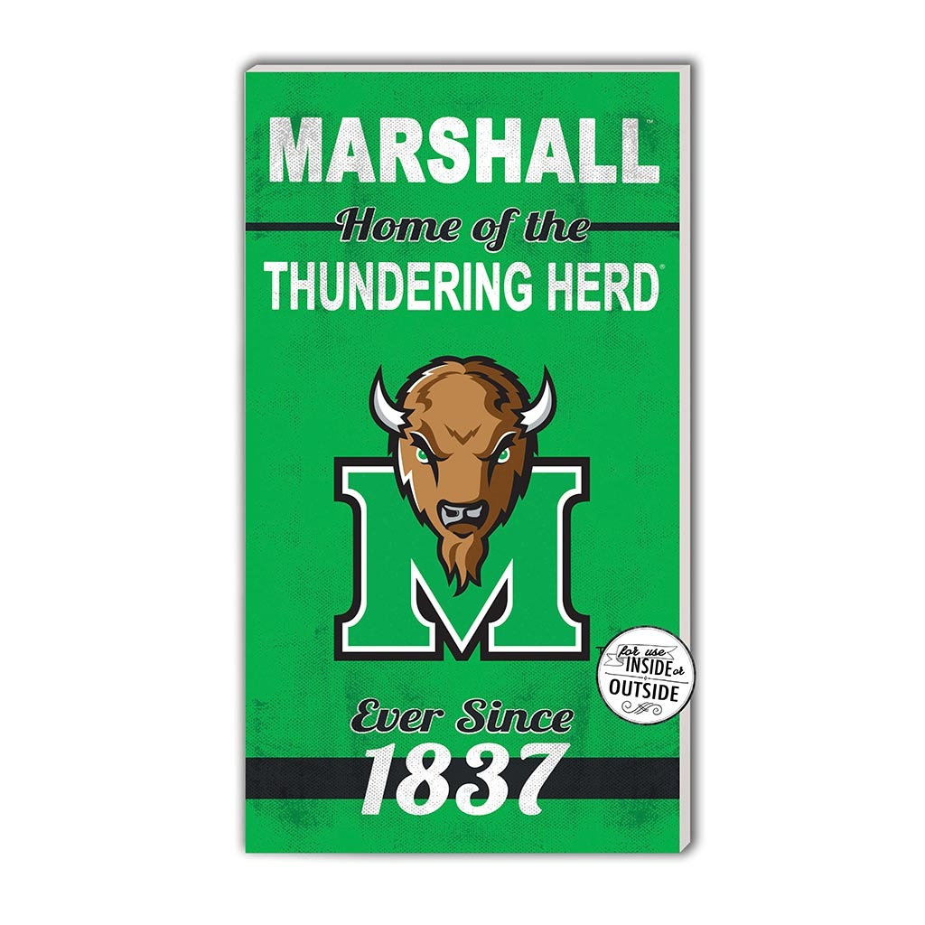 11x20 In\Outdoor Sign Home of the Marshall Thundering Herd