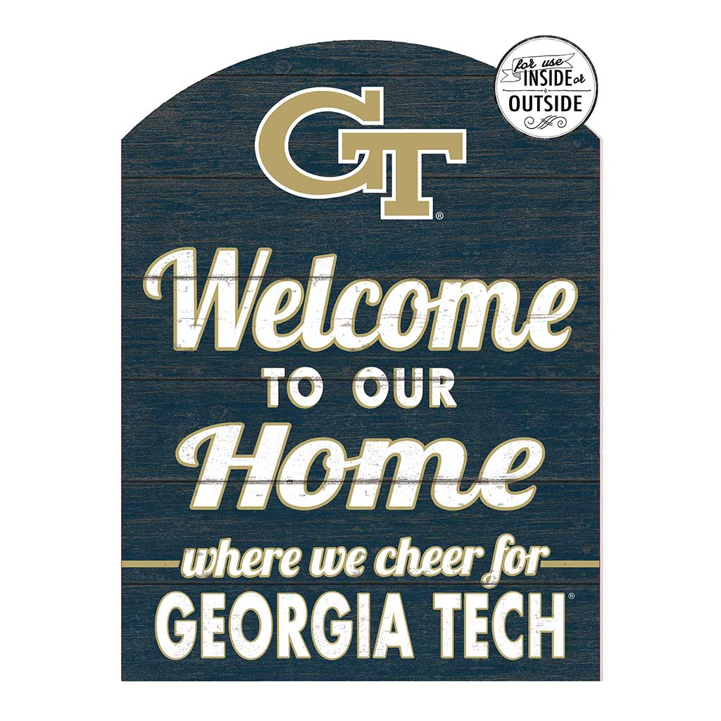 22x16 In\Outdoor Marquee Sign Georgia Tech Yellow Jackets