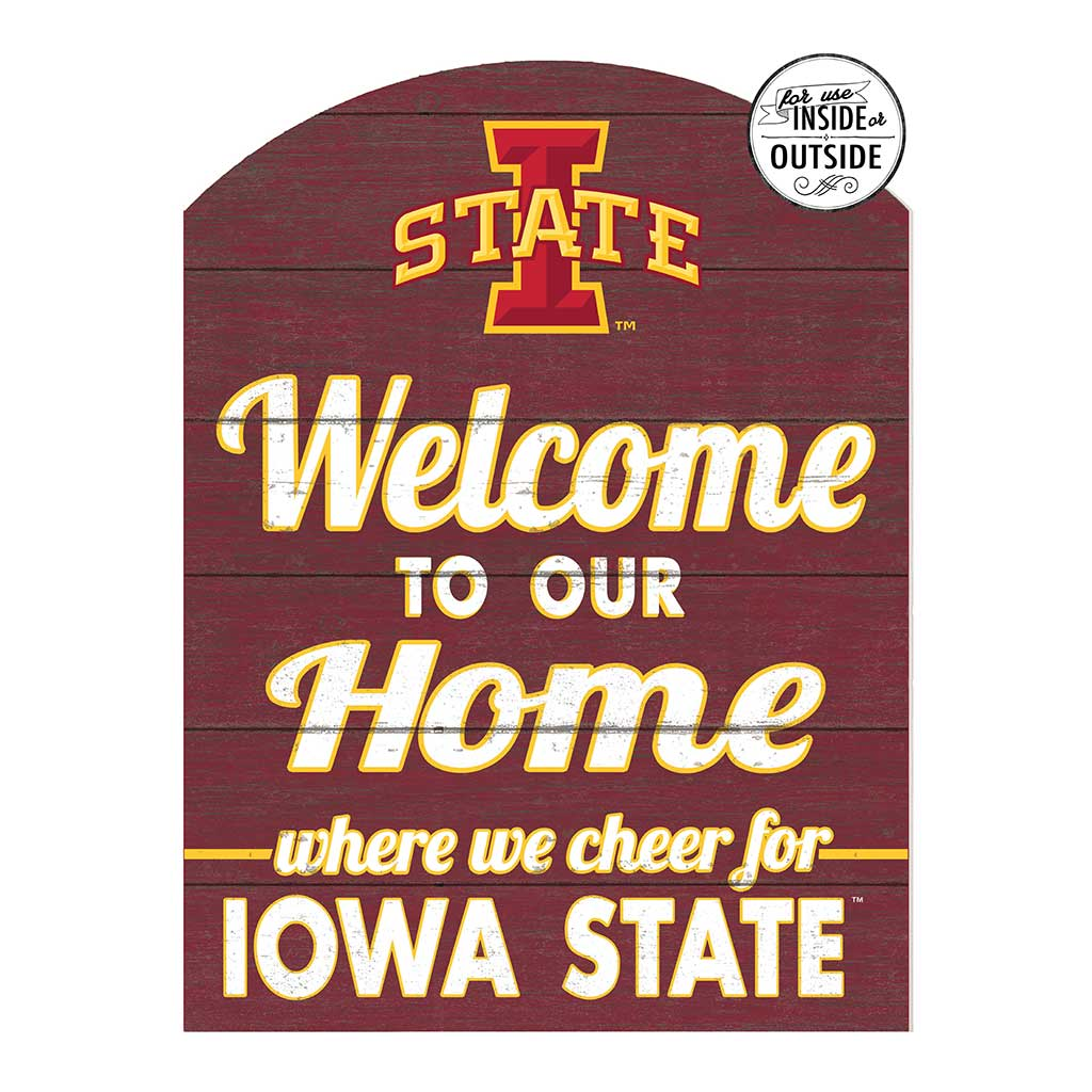 22x16 In\Outdoor Marquee Sign Iowa State Cyclones