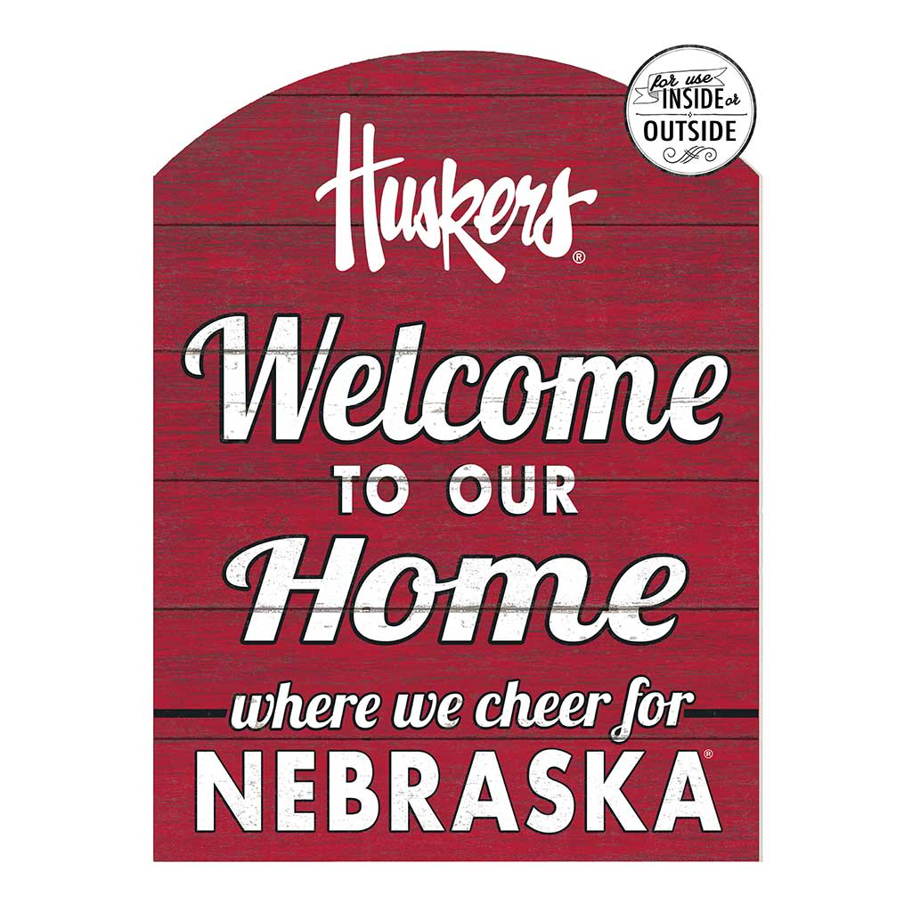 22x16 In\Outdoor Marquee Sign Nebraska Cornhuskers