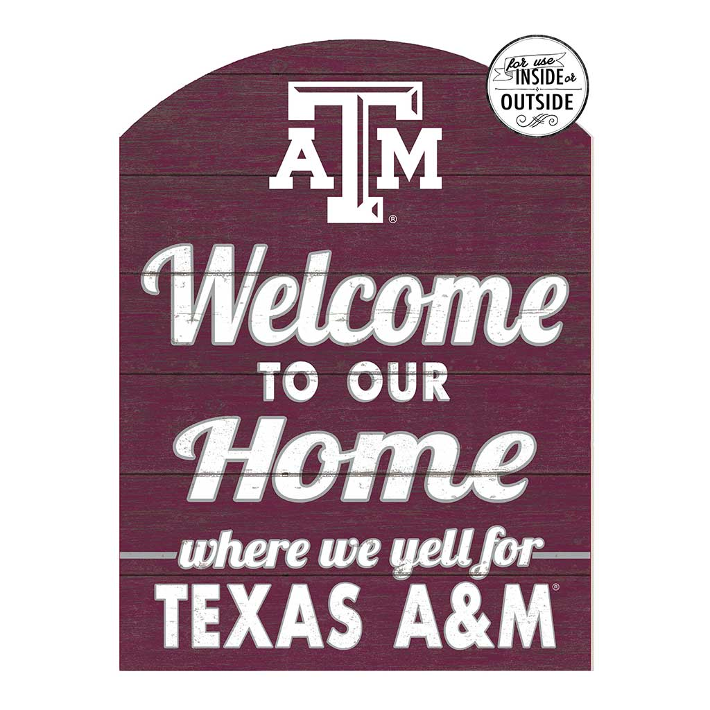 22x16 In\Outdoor Marquee Sign Texas A&M Aggies