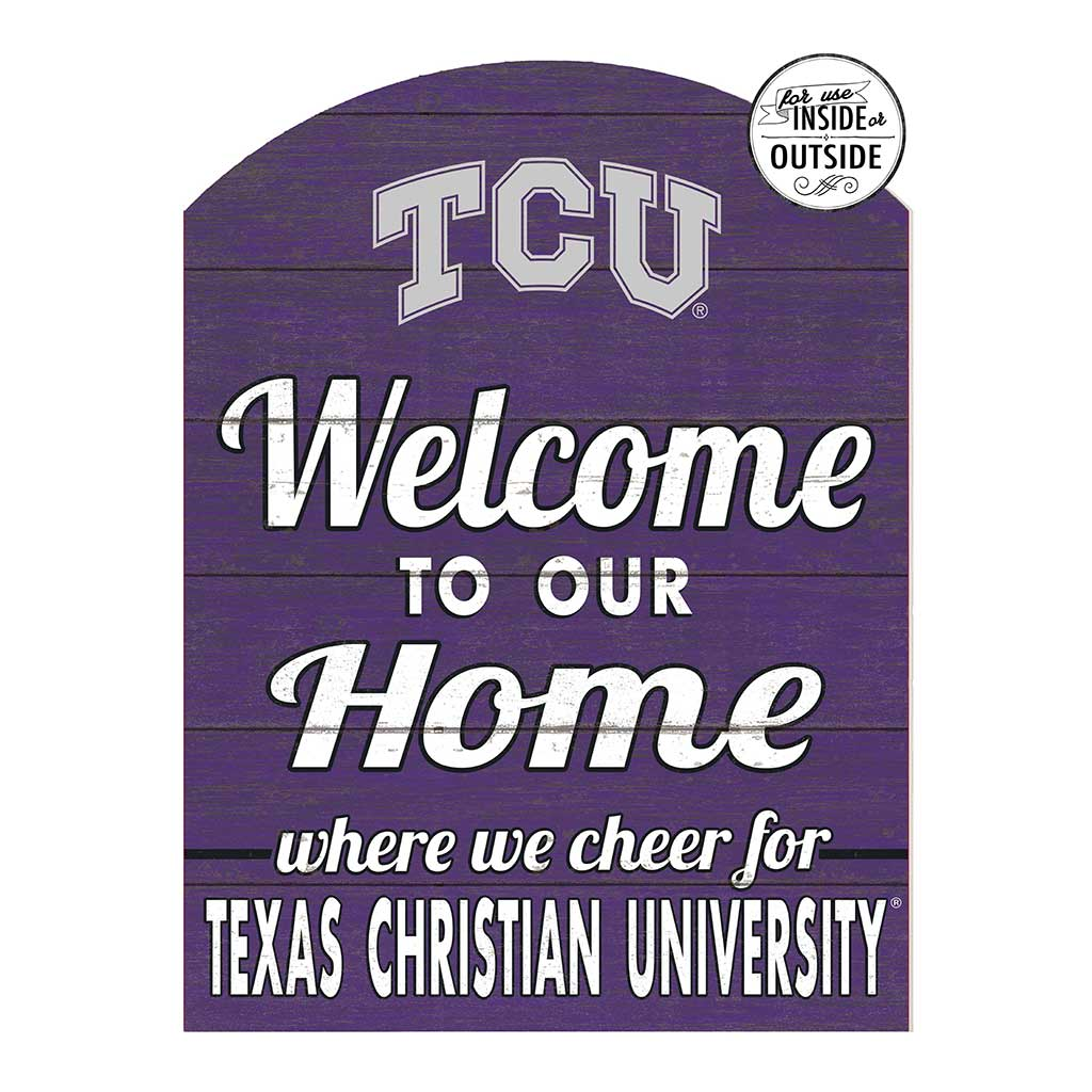 22x16 In\Outdoor Marquee Sign Texas Christian Horned Frogs