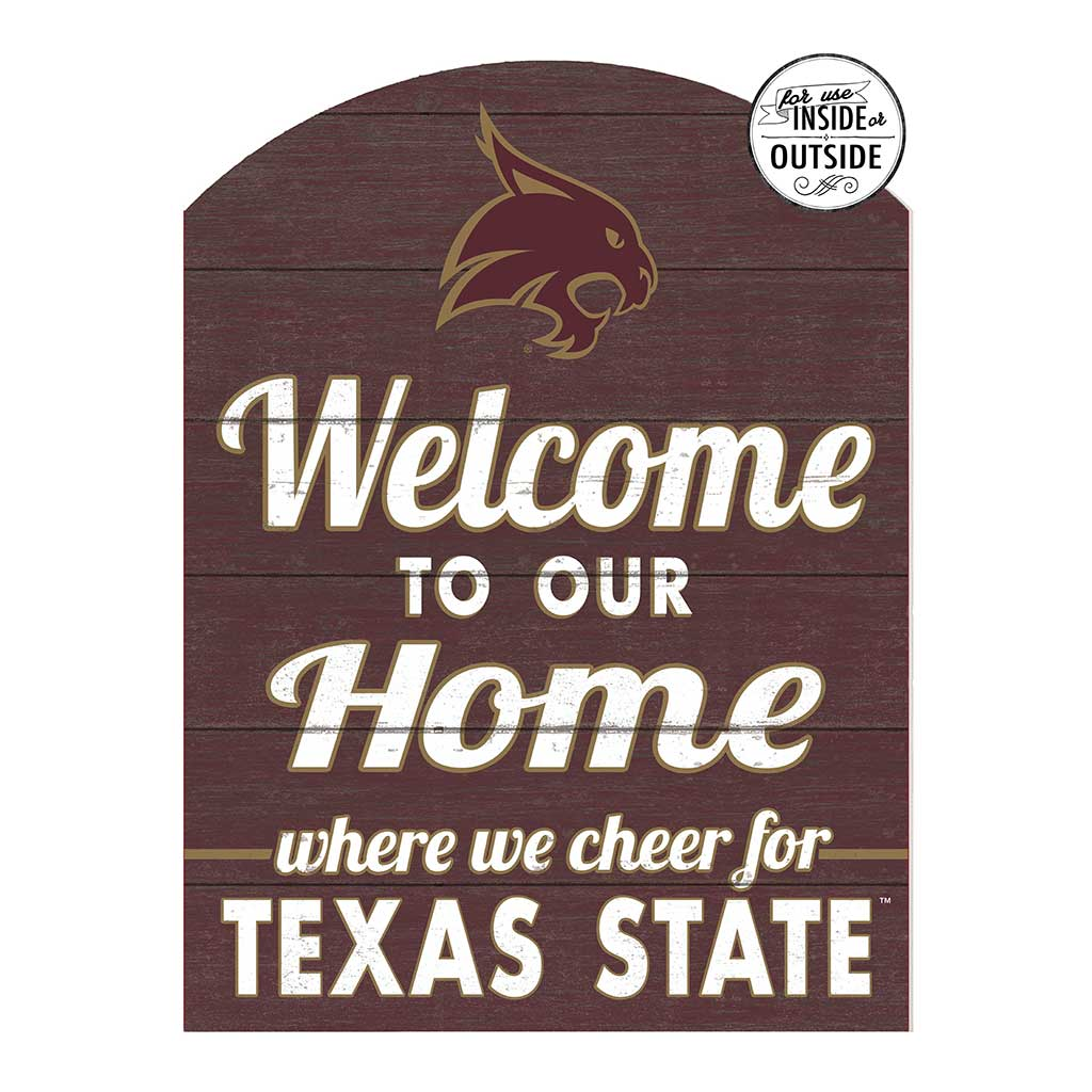 22x16 In\Outdoor Marquee Sign Texas State Bobcats