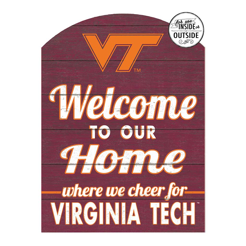 22x16 In\Outdoor Marquee Sign Virginia Tech Hokies