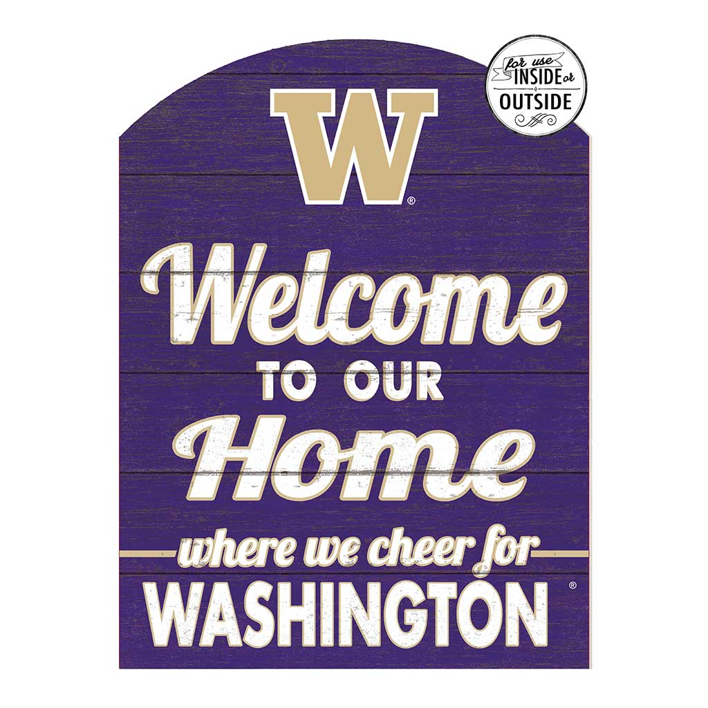 22x16 In\Outdoor Marquee Sign Washington Huskies