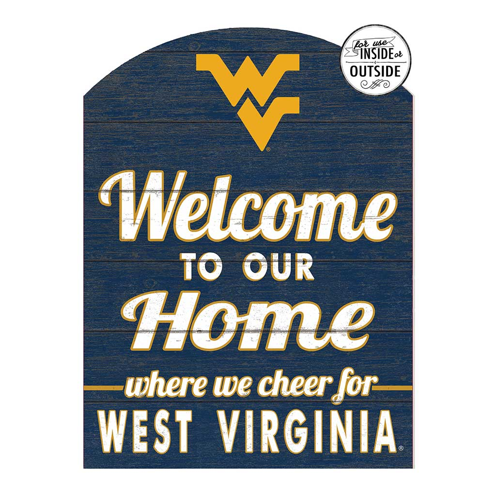 22x16 In\Outdoor Marquee Sign West Virginia Mountaineers