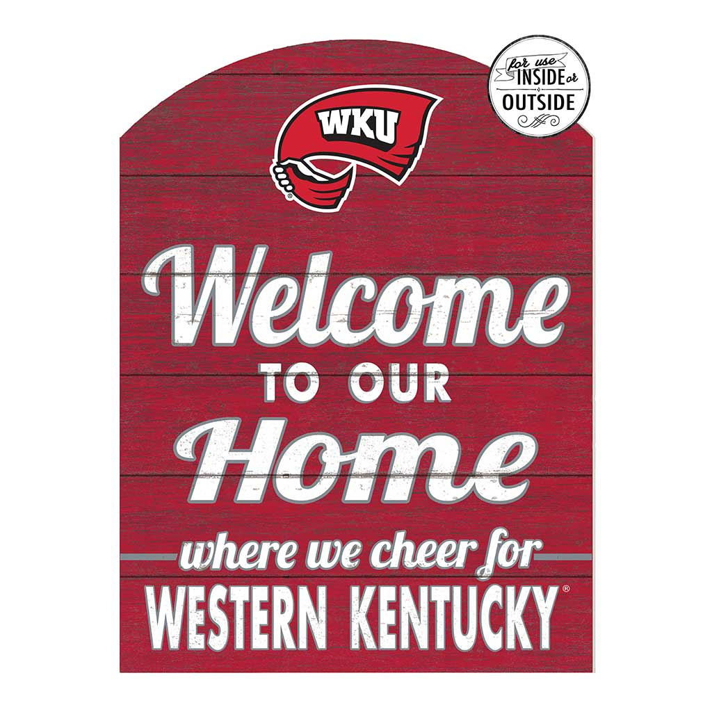 22x16 In\Outdoor Marquee Sign Western Kentucky Hilltoppers