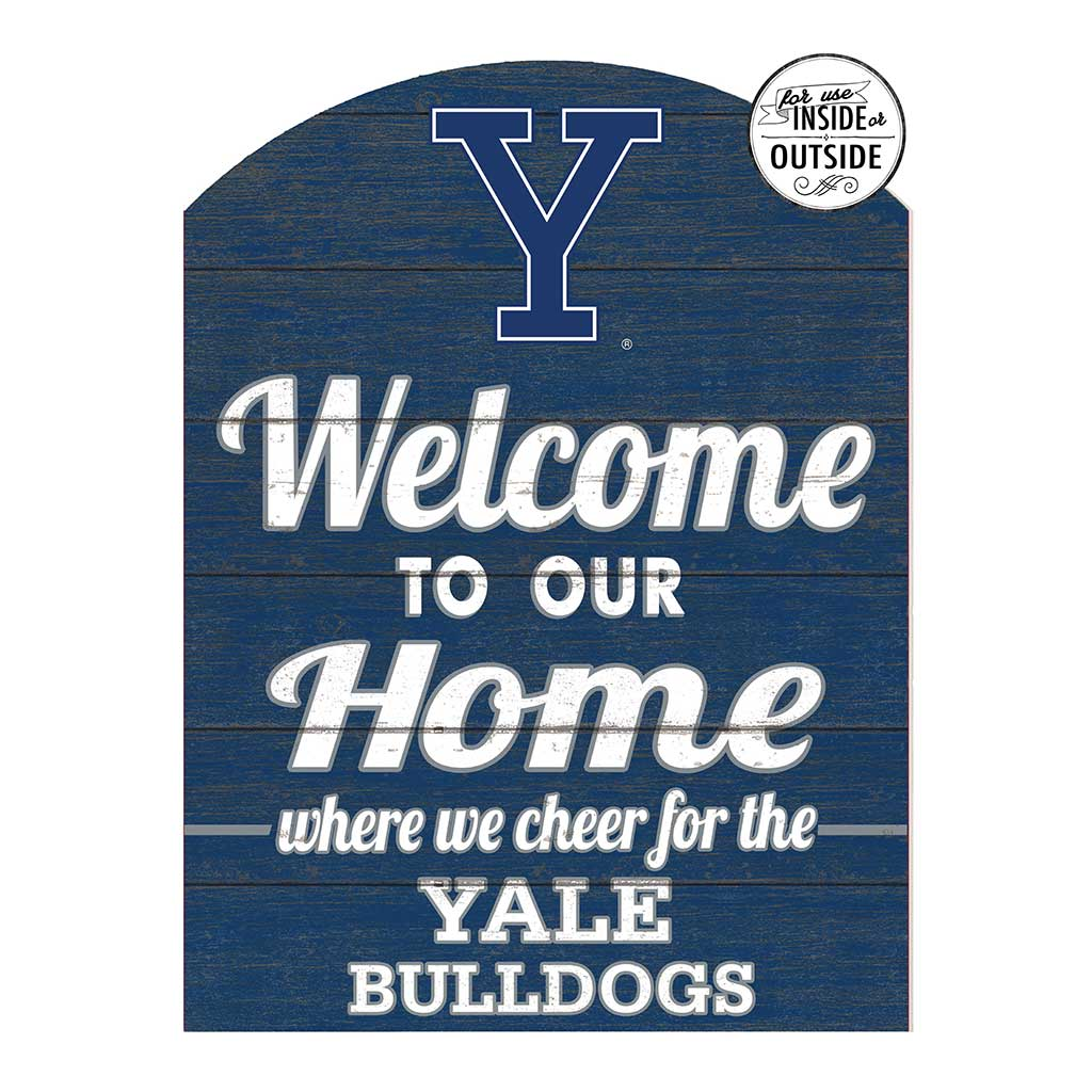 22x16 In\Outdoor Marquee Sign Yale Bulldogs