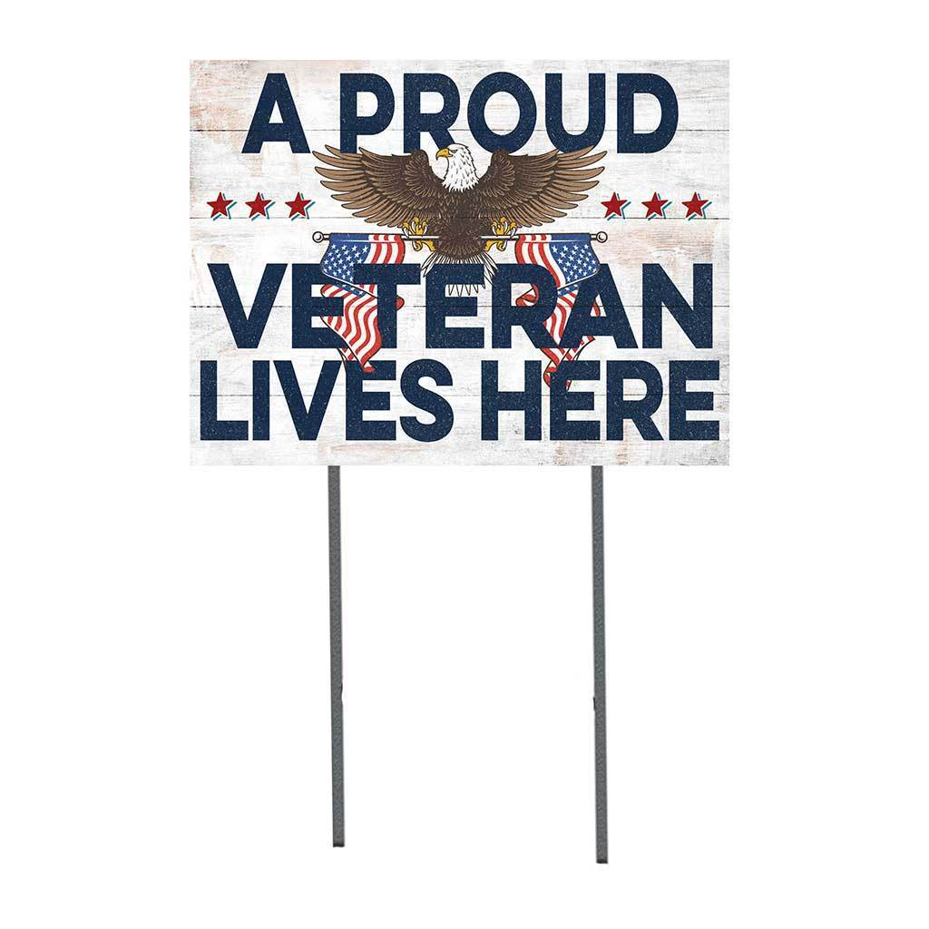 Proud Veteran Lawn Sign
