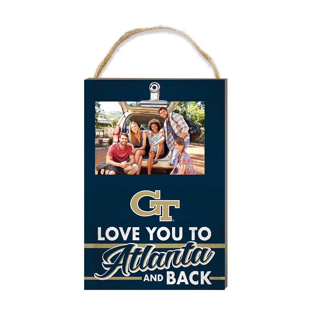Hanging Clip Photo Frame Love You To Georgia Tech Yellow Jackets