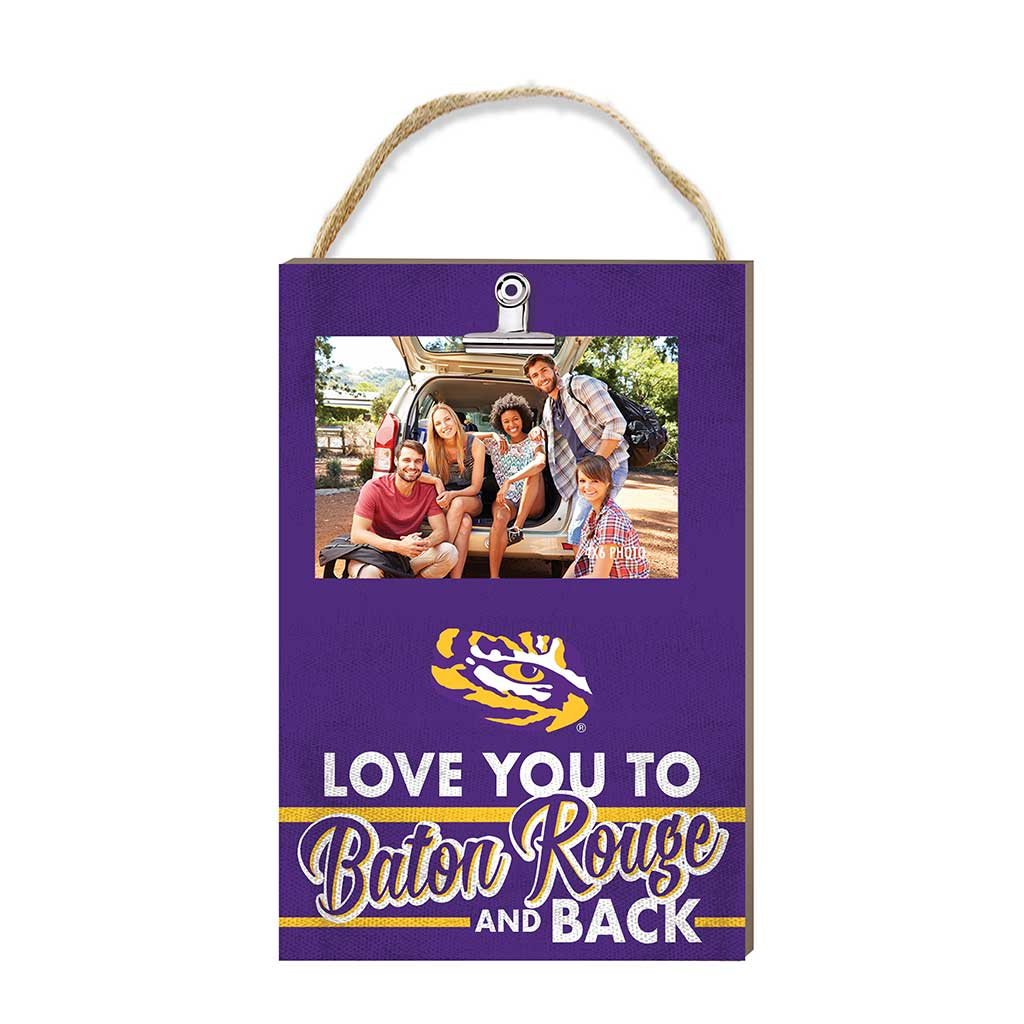 Hanging Clip Photo Frame Love You To LSU Tigers